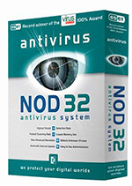 Idle state antivirus scan (NOD32)