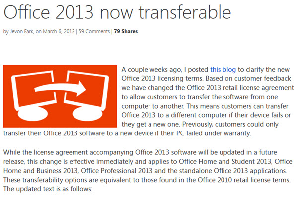 Buying office 2013