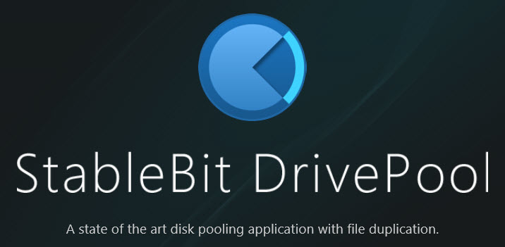 StableBit DrivePool disk software