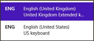 Make sure you chose US keyboard layout