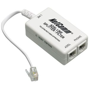 adsl2 filter splitter white