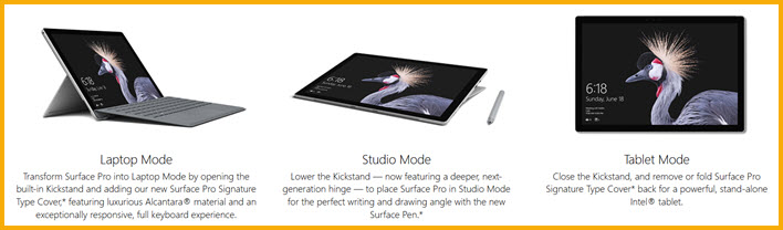 MS Surface *Pro* with 4G