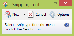 Use Snipping Tool to capture screen shots